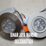 Downlight Ceiling Led 3 Mata