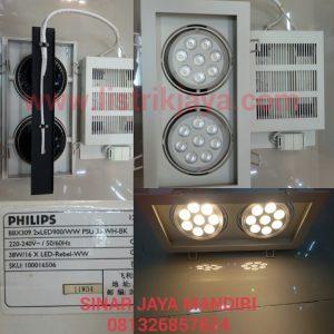 Downlight Led Halospot BBX 309 2 X 19 Watt Philips