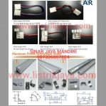 Sambungan Led Strip Dan Cover Alumunium Strip