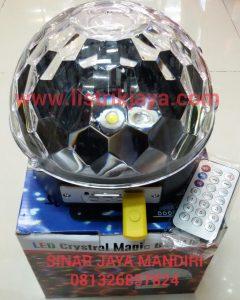 Lampu Disko Setengah Lingkaran / Disco Ball