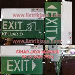 Lampu Emergency Exit Powercraft