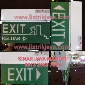 Lampu Emergency Exit Powercraft