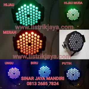Lampu Panggung 54 Mata Fullcolor