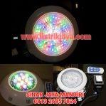 Lampu Kolam Renang LED 12W RGB + Remote Control + Balast