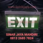 Lampu Exit Motif Grafir