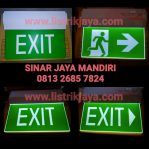 Lampu Emergency Exit Led Vitalite