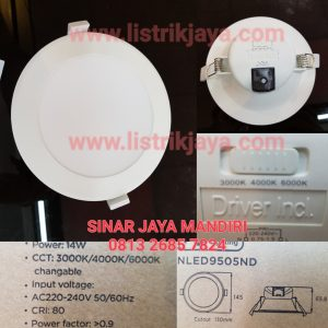 Downlight Led 14 Watt NVC Nevo 9505