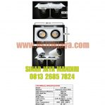 Downlight Adjustable 2 x 12W COB Bridgelux