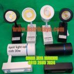 Lampu Track Rell 30W Spotlight COB