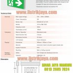 Emergency Led EXIT TDE