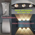 Lampu Dinding Led 2 Arah Lensa 6 x 2W Cree