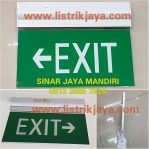 Lampu Emergency Exit OSC LED