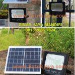 Lampu Sorot Led 40W Tenaga Surya Solar Panel