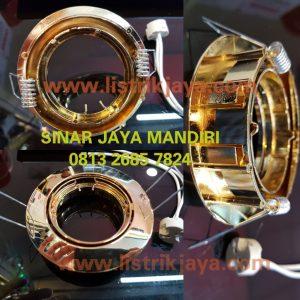 Kap Lampu MR16 Gold