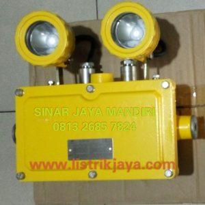 Twin Lamp Led Explosion Proof Warom BAJ 52-20