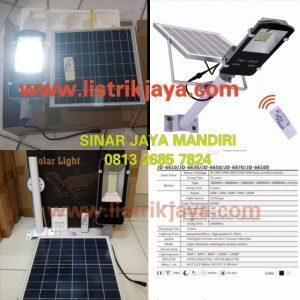 Paket PJU Led 70 Watt Solarcell