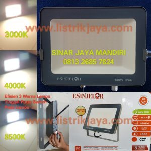 Lampu Sorot Led Chip Osram Esinjelor 100W