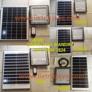 Lampu Sorot Led Solarcell 70W Two In One