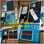 Lampu PJU Solar 50W 100W 150W Two in One