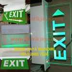 Lampu Emergency Exit Hits