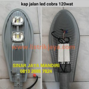 Lampu Jalan Cobra Led 120W Chip Philips