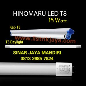 Lampu TL Led Hinomaru 18 Watt