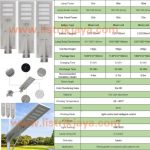 Lampu Jalan Solar All In One 60W 80W 100W