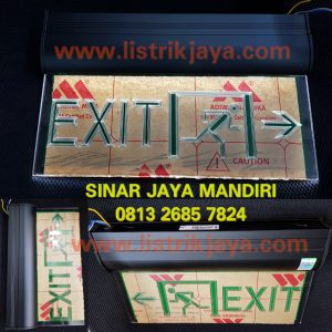 Lampu Emergency Exit Artolite