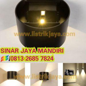 Lampu Dinding Bulat 2 Arah 6W