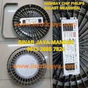 Lampu Highbay UFO 200W Chip Philips