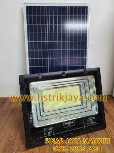 Lampu Sorot Solar Panel 1000W Two In One