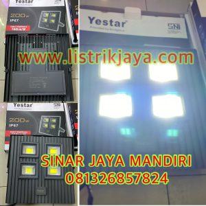Lampu Sorot Yestar 200W Chip Bridgelux IP67
